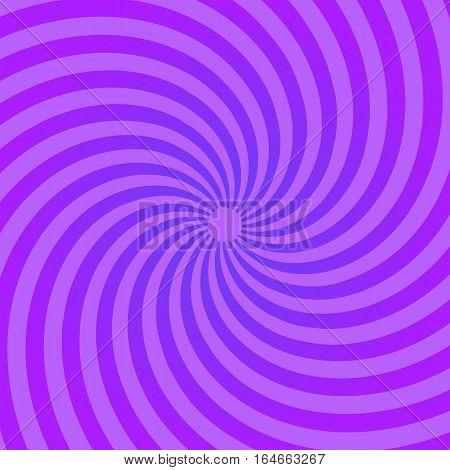 Sunburst pattern. Abstract radial bright sun burst background. Violet center sunlight gradient design sunbeam. Graphic illustration