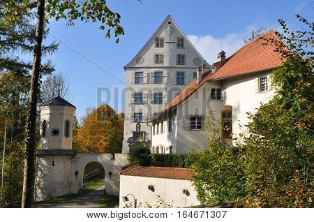 Achberg is a municipality in the district of Ravensburg in Baden-Württemberg in Germany.