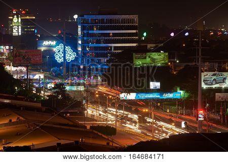 Traffic Lights Of Cars