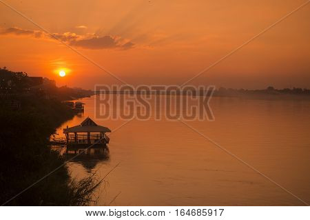 Thailand Isan Nong Khai Mekong River