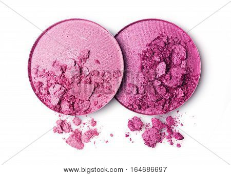 Pink Crushed Eye Shadow Or Blush