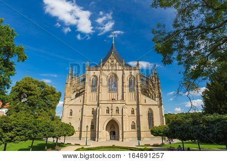 st Barbora Cathedral in Kutna Hora Unesco heritage site Central Bohemia Czech Republic