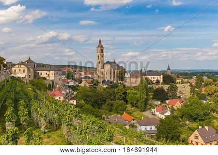 Kutna Hora historical town Unesco heritage site Central Bohemia Czech Republic