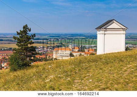 Tanzberg Hill Svaty Kopecek Mikulov Southern Moravia Czech Republic