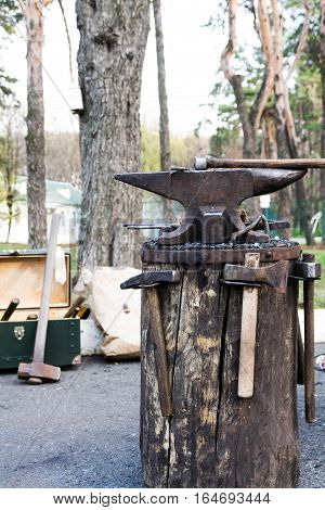 Anvil And Many Hammers.