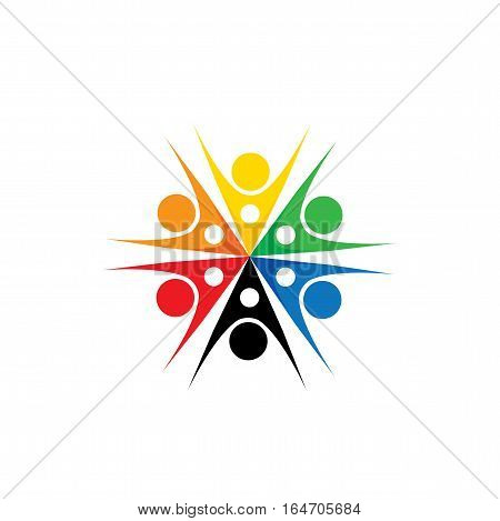 People Community Vector Logo Icon In Eps 10 Format