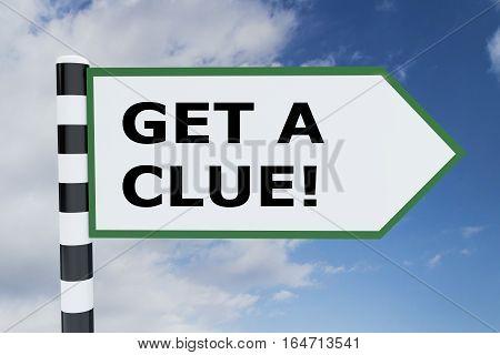 Get A Clue Concept