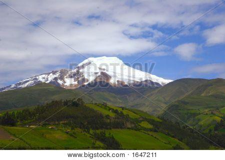 Volcano Cayambe