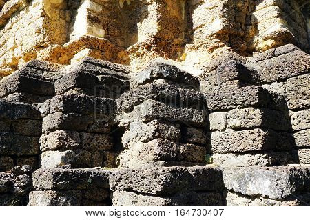 Recess Wood Twelve Base Laterite Stone Shadow Light