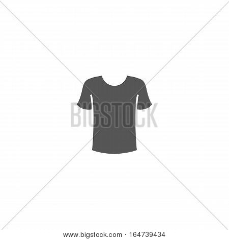 T-Shirt Icon vector illustration isolated on a white background.