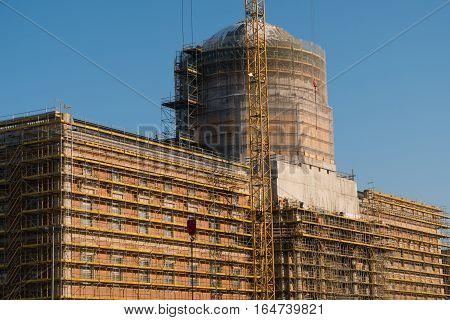 The Reconstruction Of The Berlin City Palace / Stadtschloss