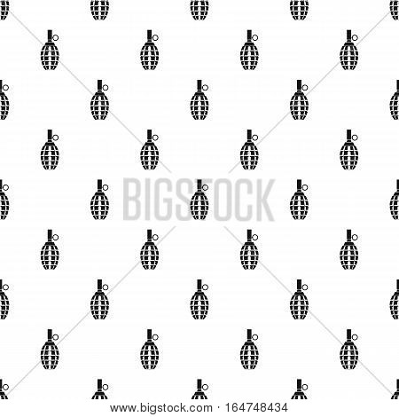 Grenade pattern. Simple illustration of grenade vector pattern for web