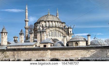 Istanbul, Turkey - April 12, 2014: Kilic Ali Pasa Cami Mosque in Istanbul