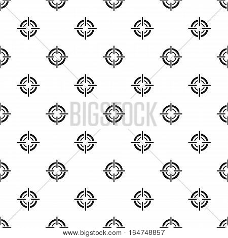 Crosshair, reticle, viewfinder pattern. Simple illustration of crosshair, reticle, viewfinder vector pattern for web