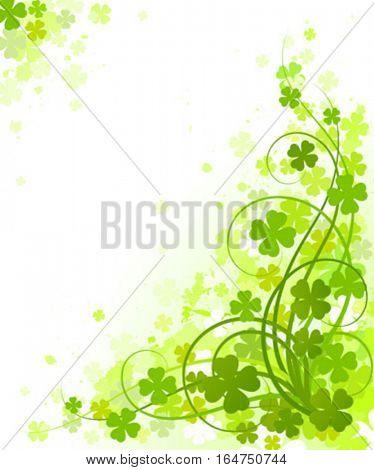 St. Patrick's Day design. Vector illustration.