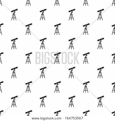 Telescope pattern. Simple illustration of telescope vector pattern for web