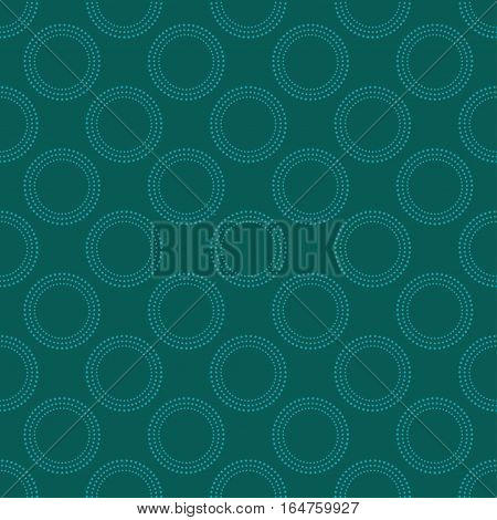 Abstract seamless pattern green color. Vector illustration