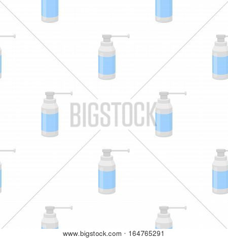 Throat spray icon cartoon. Single medicine icon from the big medical, healthcare cartoon. - stock vector