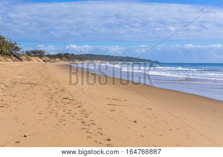 Secluded Beach In Agnes Water, Queensland, Australia