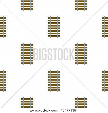 Mine railway icon in cartoon style isolated on white background. Mine pattern vector illustration.