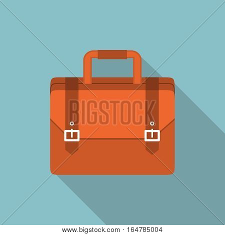 Vector Briefcase illustration, design element for mobile and web applications, eps 10