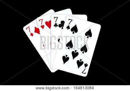Poker playing card. Jack heart. Queen heart. King heart. Poker cards in the art deco style. Standard size card