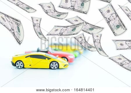 Evolution of the prices in automotive industry