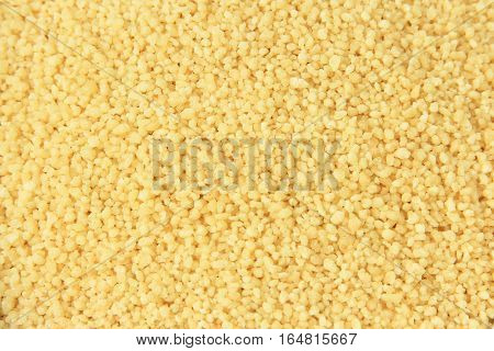 Instant couscous in close up (studio Image)