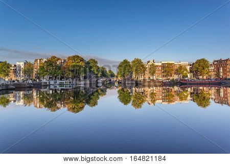 The Amstel is a river in the Netherlands which runs through the city of Amsterdam.