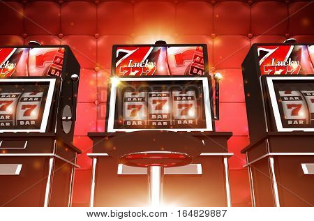 Slot Casino Game Machines. Las Vegas Style Slot Machines. One Handed Bandits.