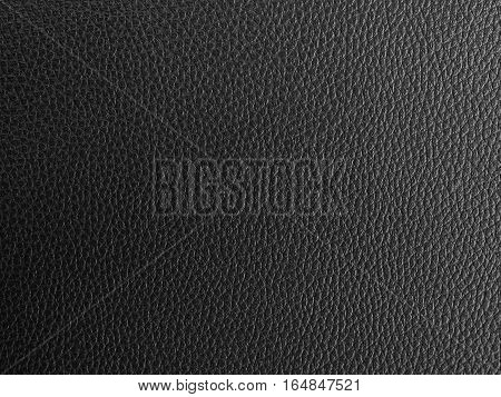 black leather texture for background or wallpaper.