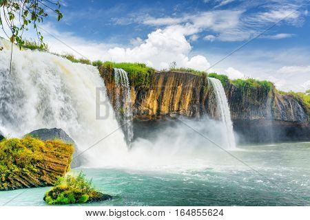 The Dray Nur Waterfall, Dak Lak Province (daklak), Vietnam