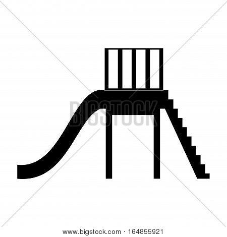slide playground related icon image vector illustration design