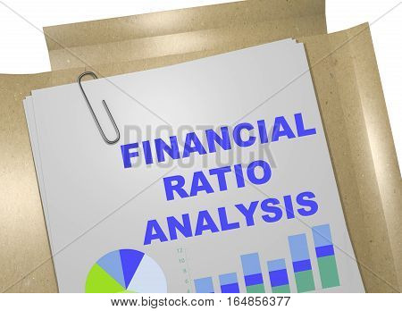 Financial Ratio Analysis - Business Concept