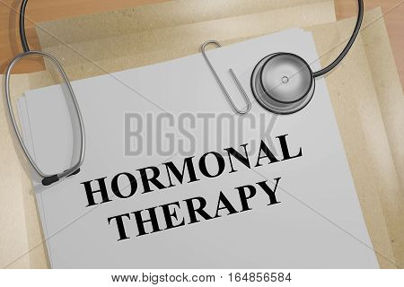 Hormonal Therapy - Medical Concept