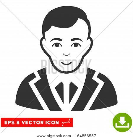 Vector Noble EPS vector pictograph. Illustration style is flat iconic gray symbol on a transparent background.