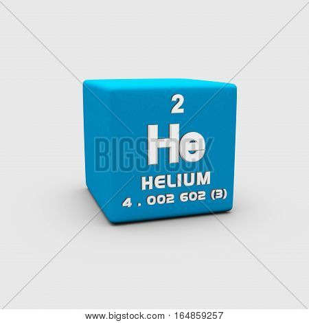 Helium is a chemical element with symbol He and atomic number 2.