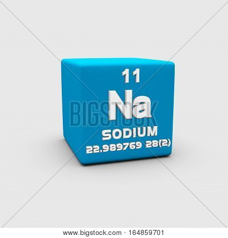 Sodium is a chemical element with symbol Na and atomic number 11.