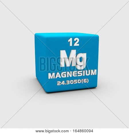 Magnesium is a chemical element with symbol Mg and atomic number 12.