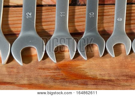 Laid Size Wrenches