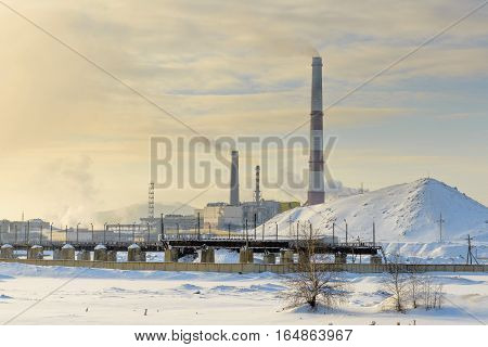 the most polluted place on the planet - Karabash