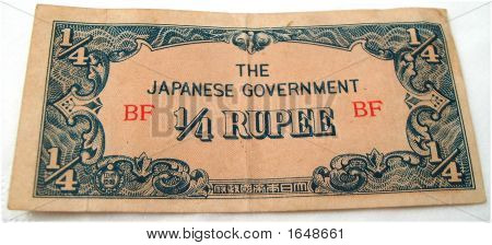 Japanese Occupation Currency Note