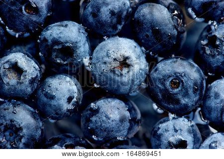 blueberries Fresh Blueberries or Bilberries. group of blueberry or stack of blueberries concept for blueberry diet or healthy diet with berries