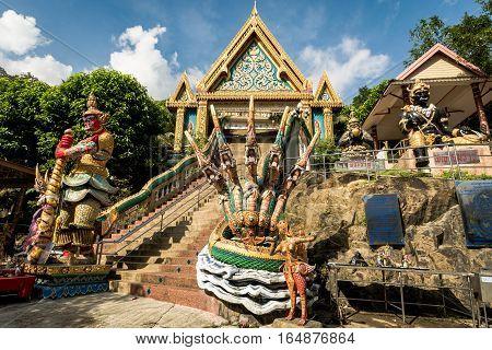 Phuket, Thailand - Jan 11 : Khao Rang Temple ( Wat Khao Rang ) In Phuket, Thailand