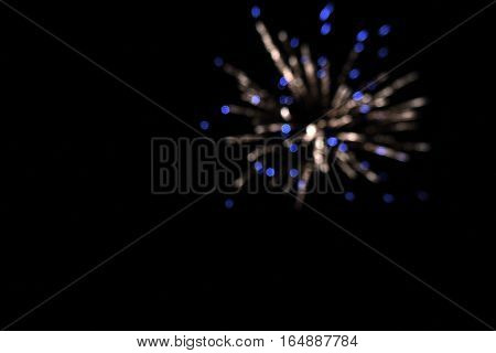 Black Background With Circles