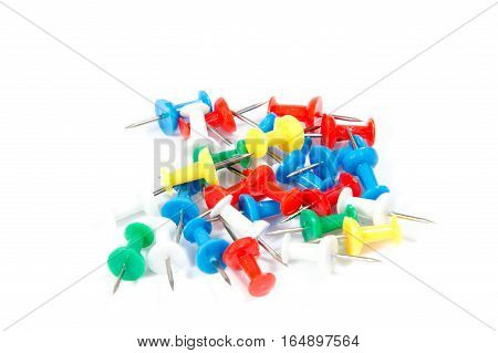 colored drawing pins office supplies stationery ,