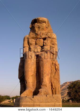 Ancient Colossi Of Memnon