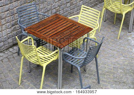 Modern Outdoor Restaurant