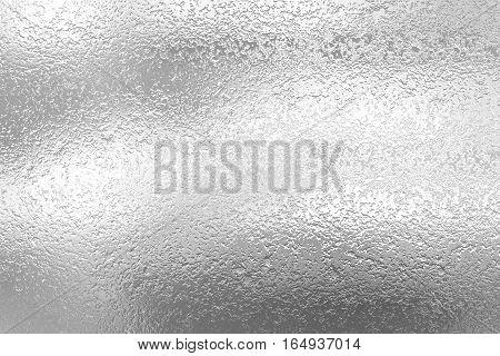 Silver Foil Decorative Texture Background