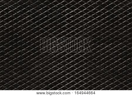 Seamless grunge diamond metal pattern for backgrounds and fills